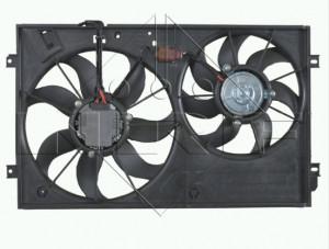 Větrák chlazení motoru komplet