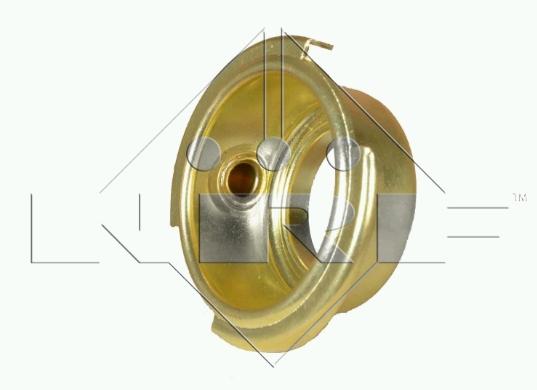 UNIVERSAL hrdlo (CU) chladiče 56 mm s trubičkou