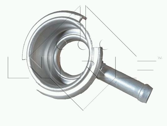 UNIVERSAL hrdlo (AL) chladiče 30 mm s trubičkou