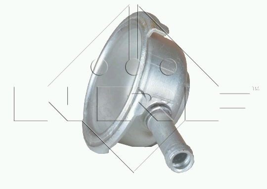UNIVERSAL hrdlo (AL) chladiče 40 mm s trubičkou