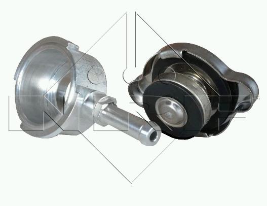 UNIVERSAL hrdlo (AL CNC) chladiče 43 mm s trubičkou